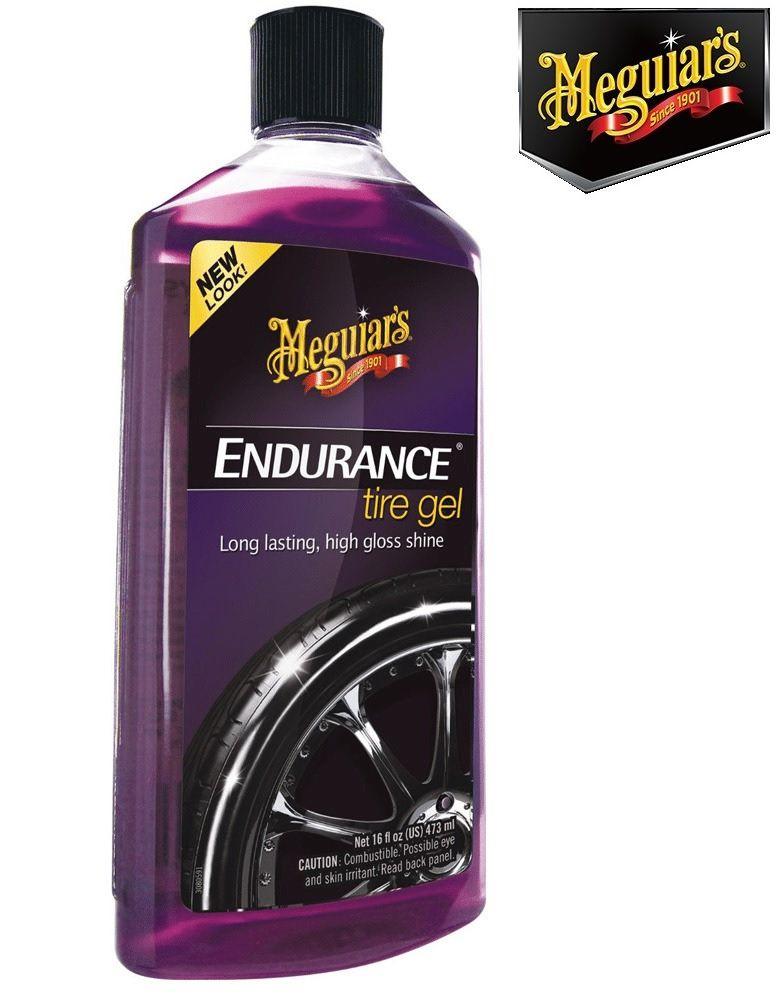 Hot Shine G12024 + Endurance Tire Gel Meguiars G7516 Pretinho Meguiars