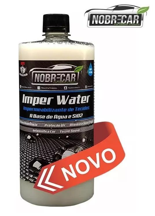 Imper Water Impermeabilizante De Tecidos 1L Nobre Car