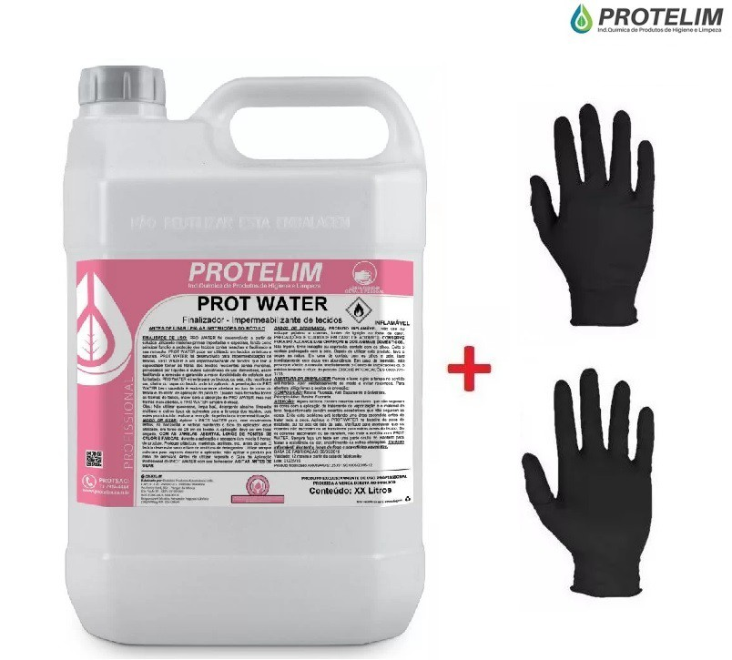 Impermeabilizante Sofá Tecidos 5l Prot Water PROTELIM + BRIN