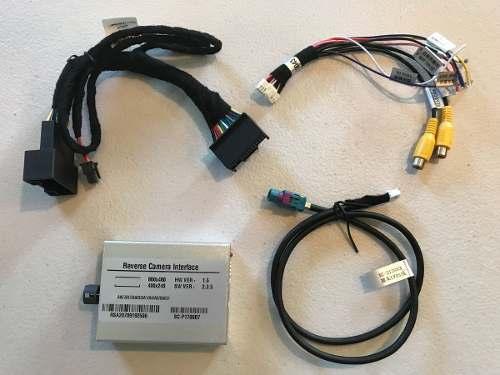 Interface de vídeo Audi Q3 / A1 / A4 / Q5 + Câmera de ré + Espelhamento de tela