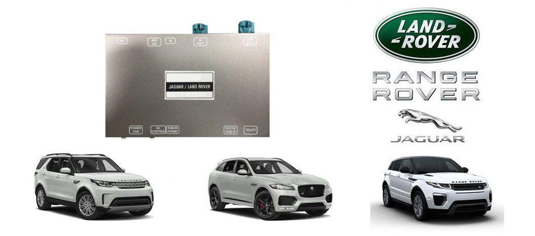 Interface de vídeo New Discovery / Jaguar F-Pace / Evoque