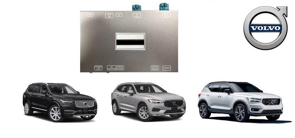 Interface de vídeo Volvo XC90 XC60 XC40 2018 2019