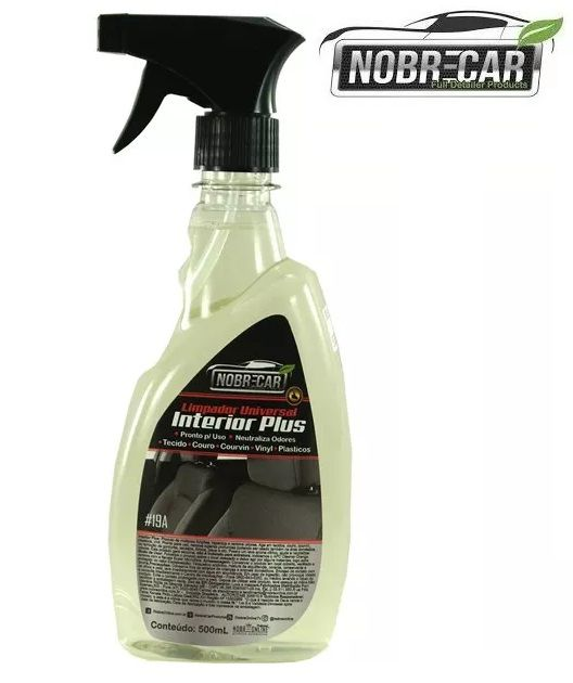 Interior Plus Tecidos E Plasticos Limpador 500ml Nobre Car