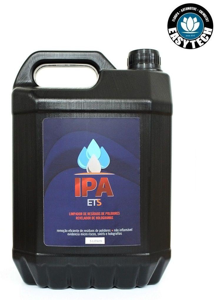 IPA 5L Anti Mascaramento Remove Resíduo Polidor hologramas Easytech