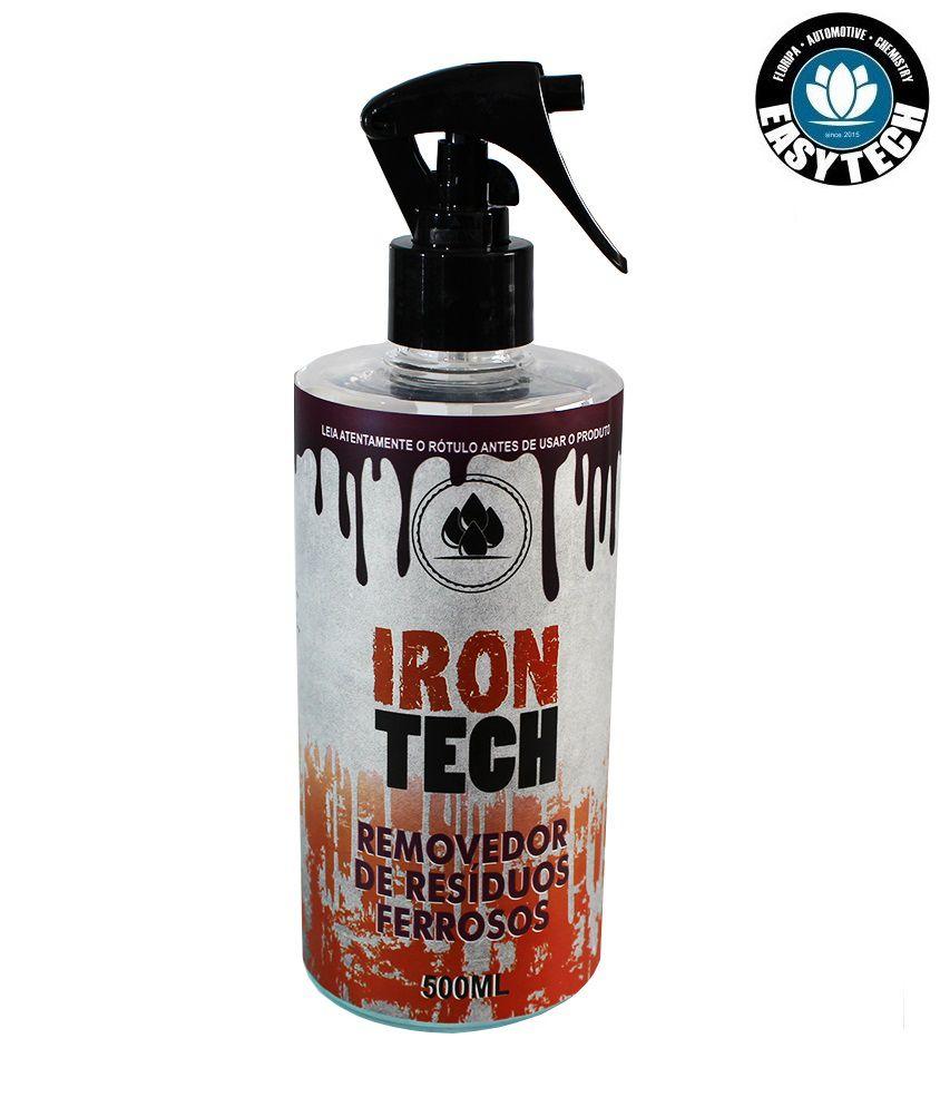 Iron Tech Removedor De Resíduos Ferrosos 500ml Descontaminante Easytech