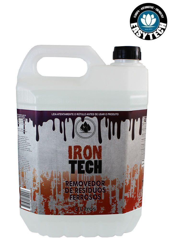 Iron Tech Removedor De Resíduos Ferrosos 5L Descontaminante Easytech