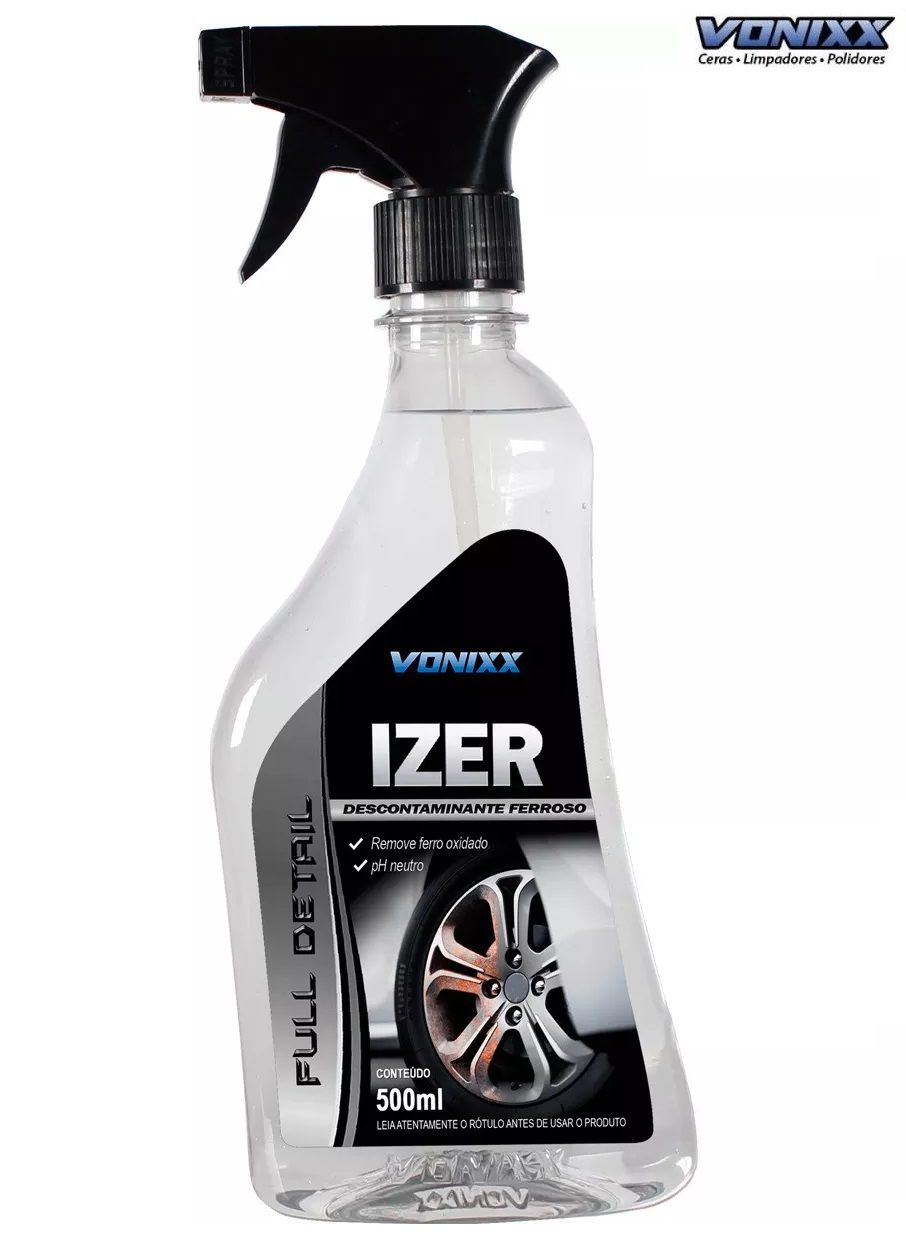 Izer 500ml Descontaminante Ferroso Vonixx Iron ferrugem rem