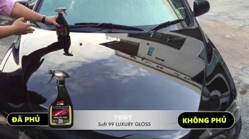 Kit 02 Abrilhantador Luxury Gloss Liquid Wax Tok Final 500ml Soft99
