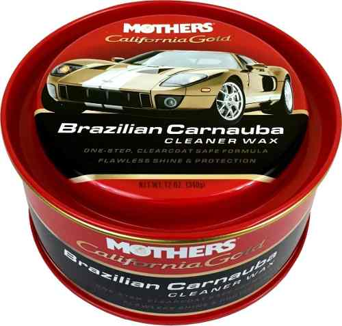 Kit 03 Cera Cleaner Wax Pasta Brazilian Carnauba Mothers 340gr