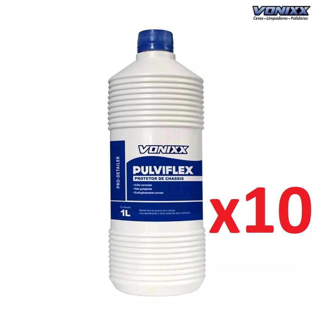 Kit 10 Pulviflex 1L Protetor De Chassis E Caixas De Rodas Vonixx