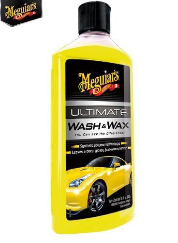Kit 1 cera Cleaner + 3 Flanelas 40x60 + 1 Shampoo Wash Wax Meguiars