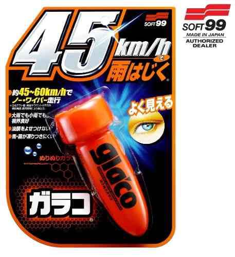Kit 1 Glass Refresh + 1 Glaco Stant Dry + 1 Glaco Washer Soft99