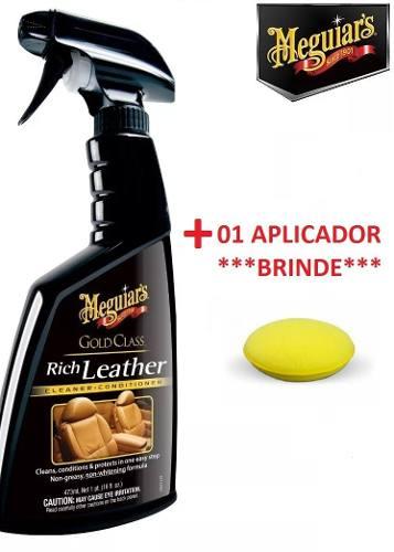 Kit 1 Natural Shine + Spray Rich Leather + Quik Detailer Interior