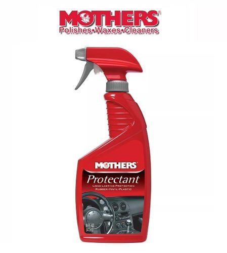Kit 1 Protectant Vinil e Borracha + 1 Mothers Leather Conditioner