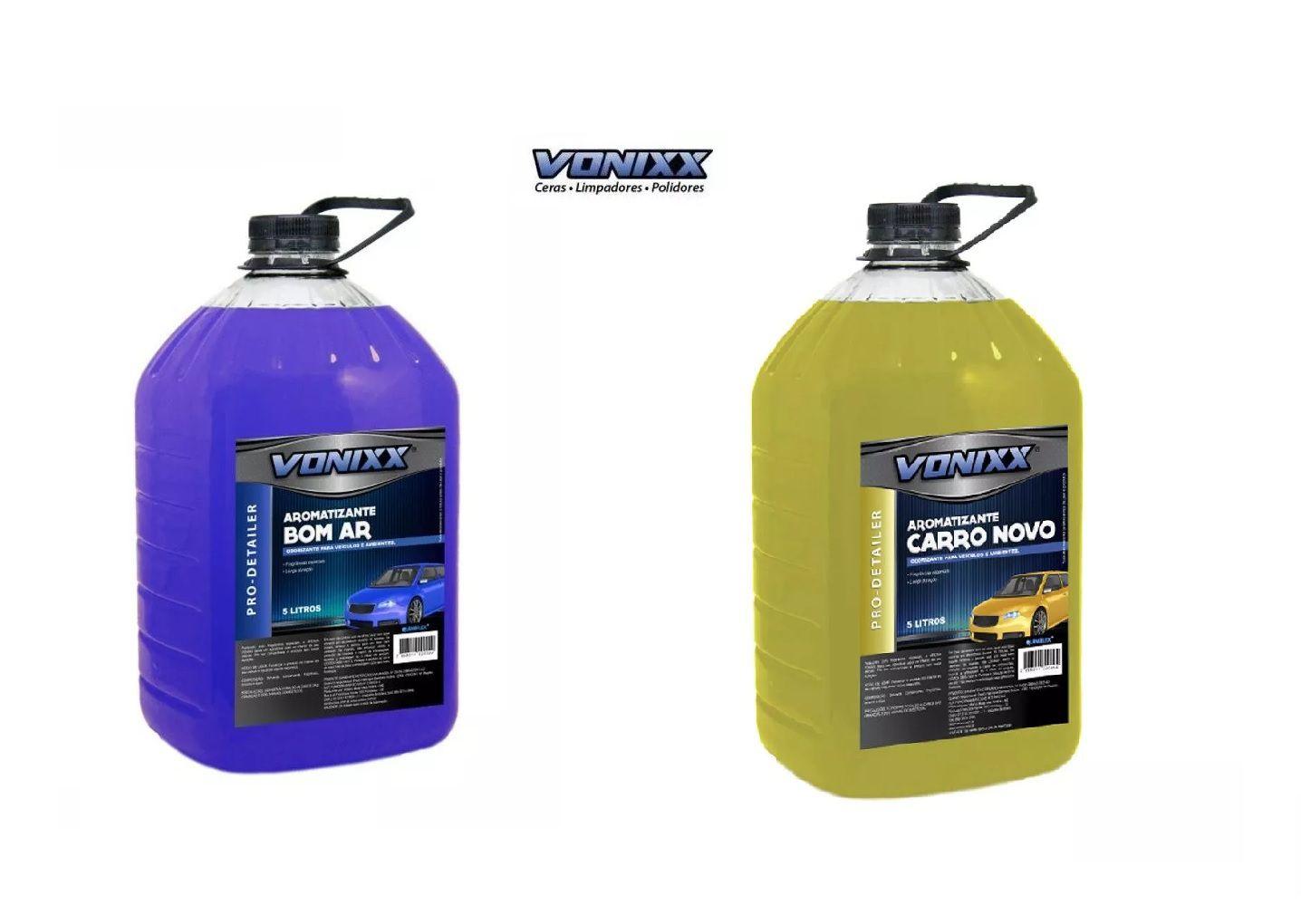 Kit 2 Aromatizantes Vonixx 1 Carro Novo + 1 Bom Ar