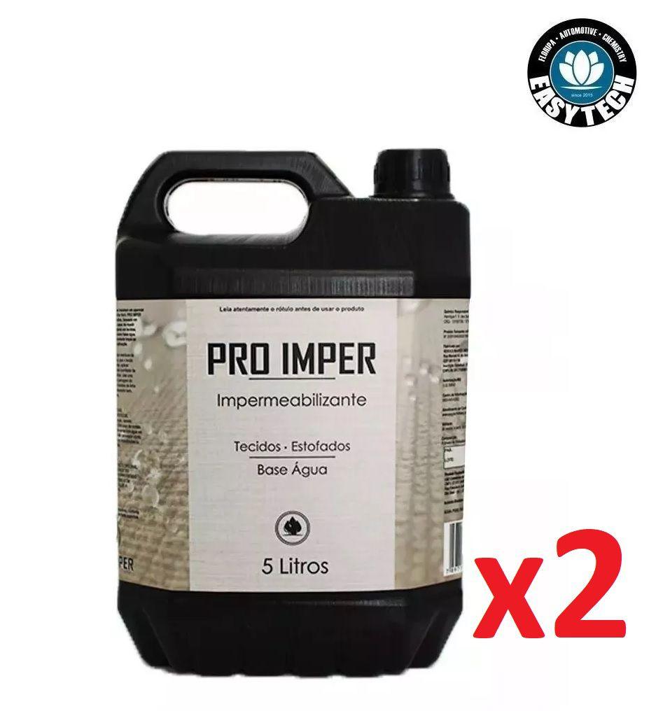 Kit 2x Impermeabilizante Sofá Tecido Pro Imper 5L Easytech