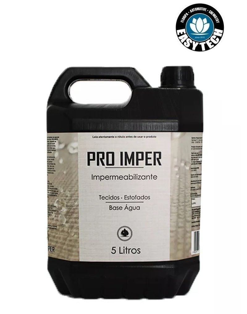 Kit 3x Impermeabilizante Sofá Tecido Pro Imper 5L Easytech