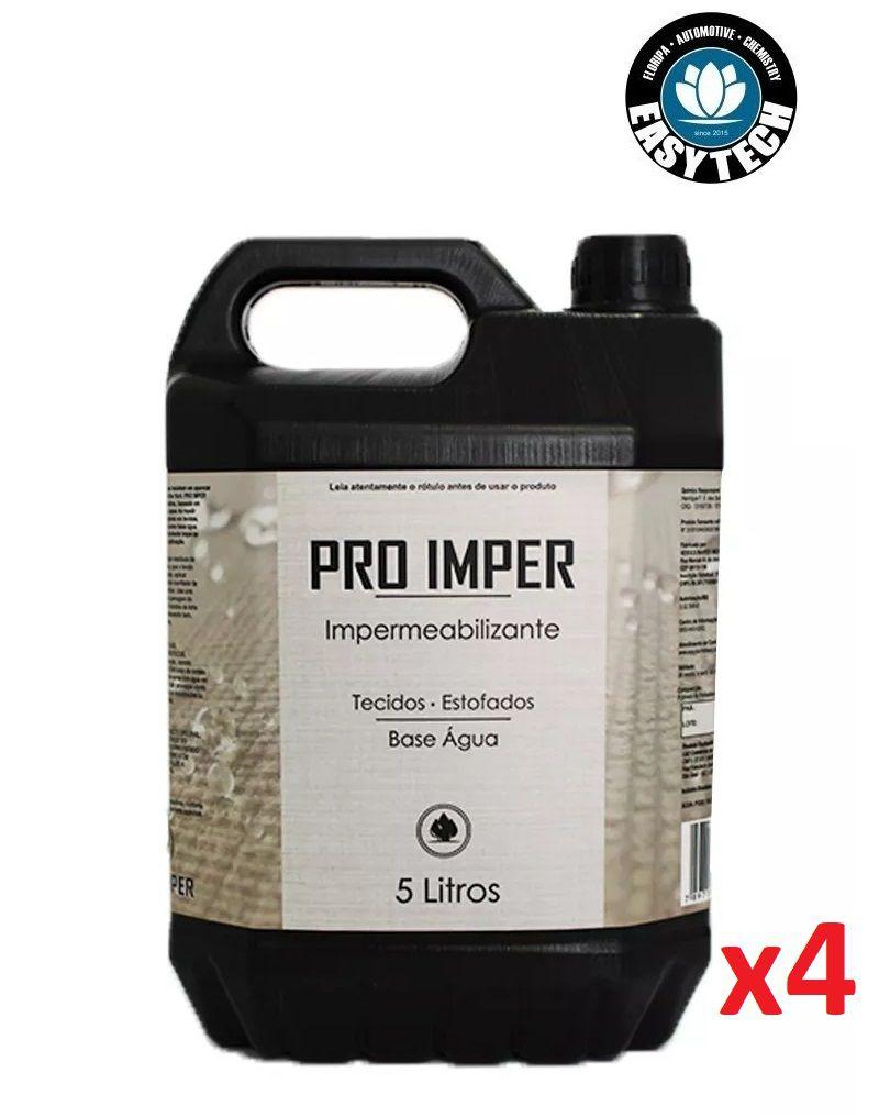 Kit 4x Impermeabilizante Sofá Tecido Pro Imper 5L Easytech