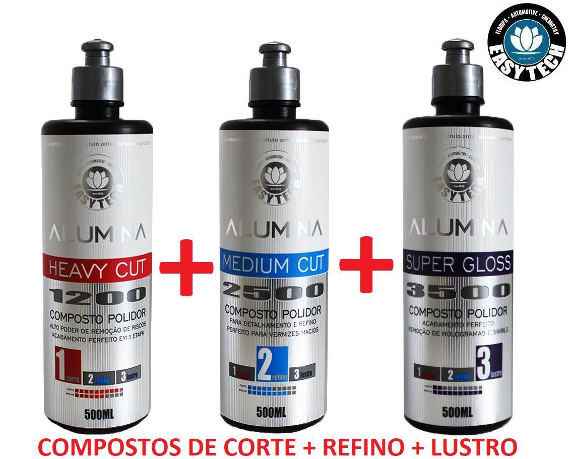 Kit Alumina Corte Refino Lustro 1200 2500 3500 EasyTech