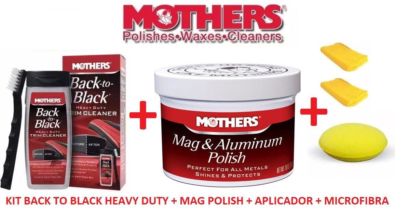 Kit Back to Black + Mag Polisher + aplicador + 2 microfibra