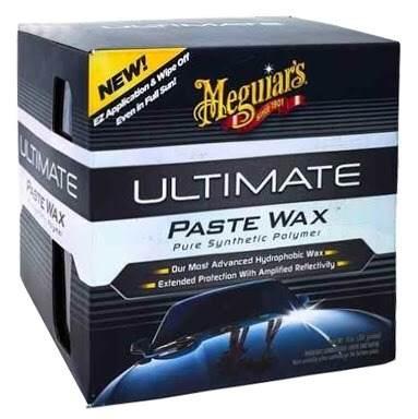 Kit c/:  - 01 Cera Meguiars Ultimate Wax Pasta G18211  - 01 Lustrador Ultra Finishing Meguiars 946 Ml M20532 Finish   - 01 Pneu Pretinho Brilho Endurance Tire Gel Meguiars G7516 473ml