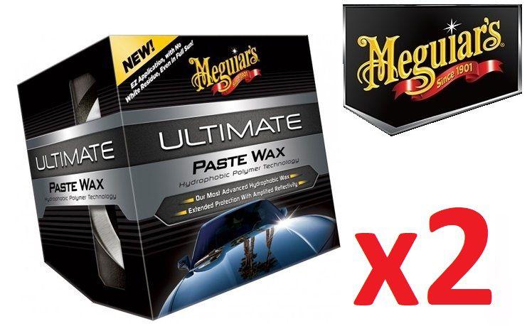 Kit c/ 02 Cera Meguiars Ultimate Wax Pasta G18211