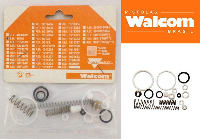 Kit c/ 02 Kit Reparo Walcom Para Pistola Slim S / Slim Hte Simpl.