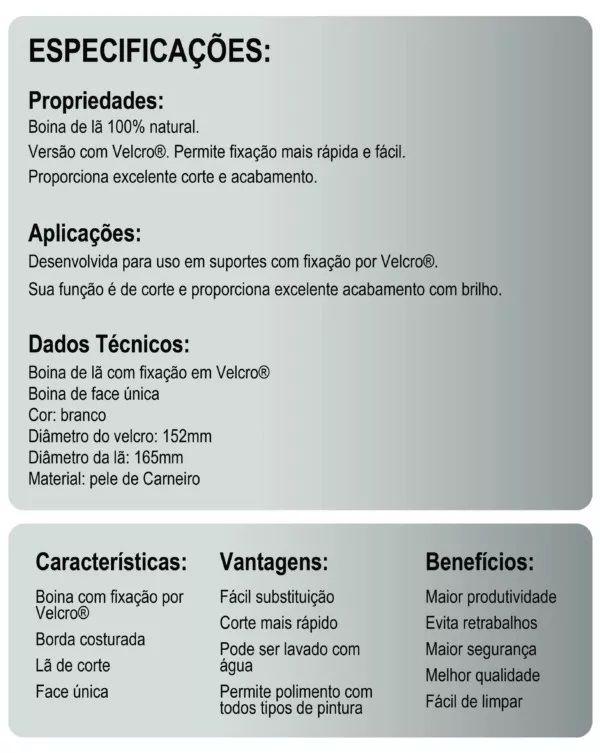 Kit c/ 02 produtos conforme descrição ZINAWELL