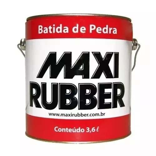 Kit C/ 03 Batida De Pedra Branco 3,6l Emborracham Maxi Rubber 4ma027