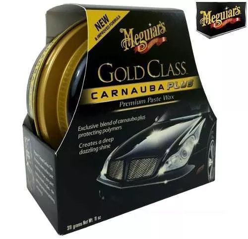 Kit c/ 03 Cera Meguiars Gold Class Pasta Wax G7014
