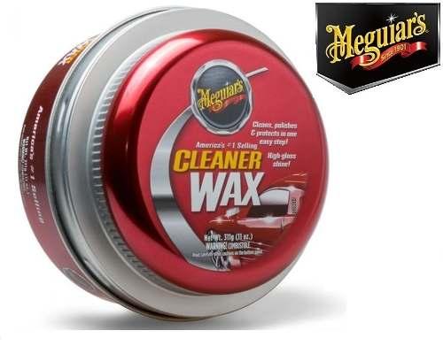 Kit C/ 05 Cera Meguiars Cleaner Wax Pasta Limpadora A1214