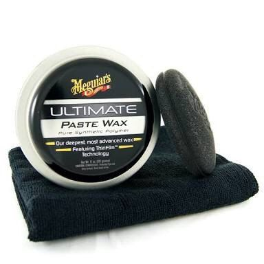 Kit c/ 05 Cera Meguiars Ultimate Wax Pasta G18211
