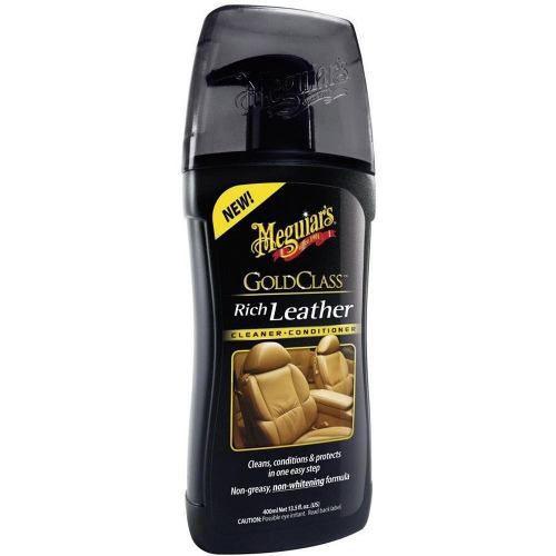 Kit c/ Cera Meguiars Gold Pasta G7014 + Hidratante De Couro G17914
