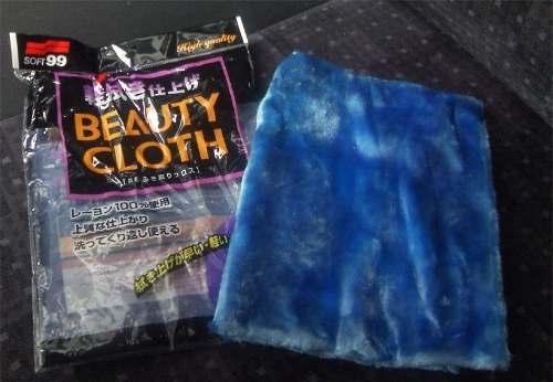 Kit C/ Cera Sintetica Extreme Gloss White + 2 Beauty Cloth pele de raposa