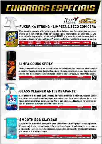 Kit Cera Fusso Coat Soft99 Light Carros Cores Claras 200g Branca + Smooth Egg Clay Bar Soft99 Com 2 Unidades Soft99 Descontamin  ​
