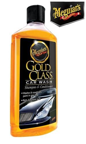 Kit Cera Meguiars Gold Class Carnaúba + Shampoo Gold