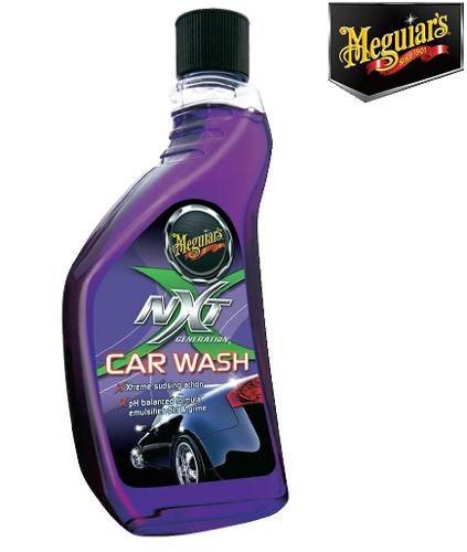 Kit Cera Meguiars Nxt 2.0 Pasta G12711 + Shampoo Nxt G12619