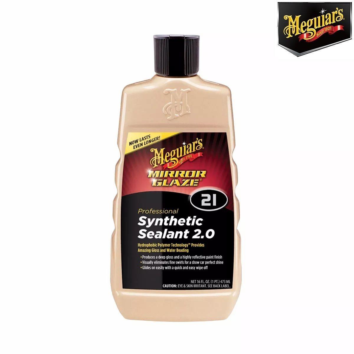 Kit Cera Ultimate Meguiars + 1 Shampoo Ultimate Meguiars + 1 Selante sintético 2.0 M2116