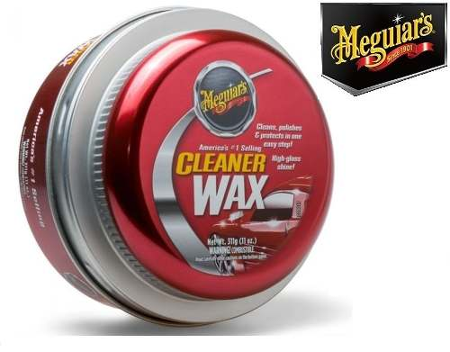 Kit Cleaner Meguiars A1214 + Flanela Secagem Autoamerica Tech Dry Plus
