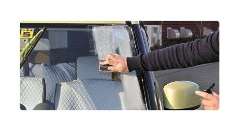 Kit Glass Refresh Polidor + Glass cleaner anti embaçante vidros Soft99
