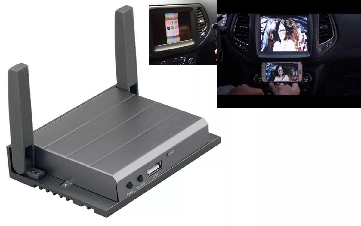 Kit Interface + Espelhamento Celular + TV FULL HD Jaguar F-Pace 2018