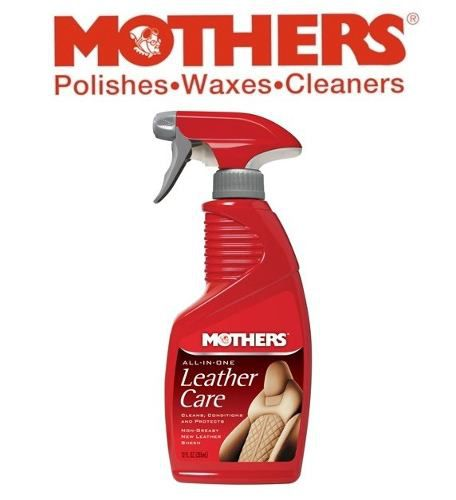 Kit Leather Care All In One Mothers + Limpador APC Vonixx