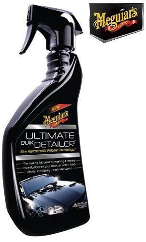Kit Meguiars 1 Quik Wax + 1 Shampoo NXT + 1 Ultimate Quik Detailer
