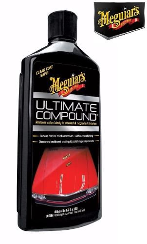 77eed16facddf ... Kit Meguiars 1 Ultimate Compound +1 Ultimate Polish + 1 Boina Roxa 7 +  1 ...