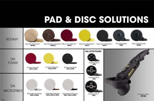 Kit Polimento Meguiars D30116 + D30016 + Boinas DMC5 + DMF5 microfiber