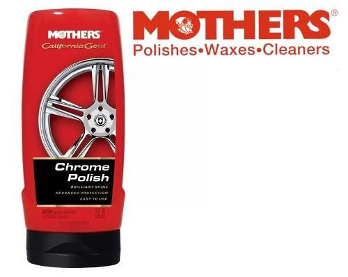 Kit Polidor Aluminium Mag Polish + Chrome Polish Mothers