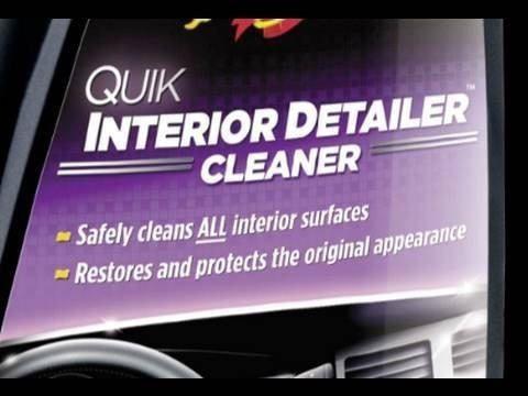 Kit Spray Rich Leather G4116 + Quik Detailer Interior G10916