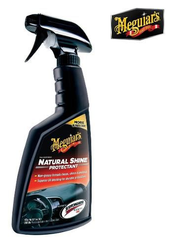 Leather Conditioner Mothers + Ultimate Black + Natural Shine Meguiars
