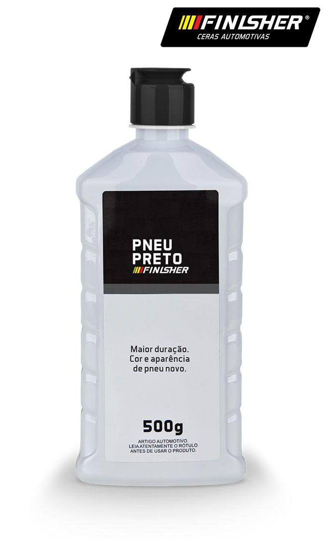 Limpa Pneu Preto Pretinho Resistente Finisher 500g