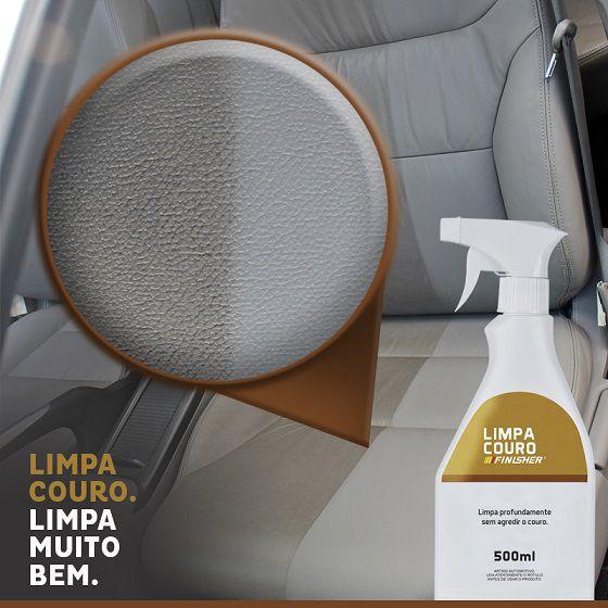 Limpador e hidratante de couro Finisher Limpa Hidrata 500ml